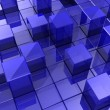 Background of cubes — Foto Stock
