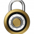 Dial lock — Stock Photo