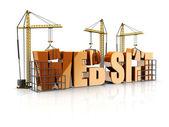 Web site — Stock Photo