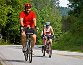 Cykeltur över georgien — Stockfoto