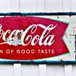 Stock Photo: Old Coke Sign