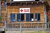 Estación de primeros auxilios — Foto de Stock