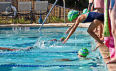 Swim Meet Competition — Stock Photo