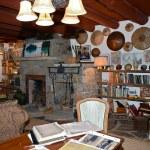 Rustic home interior — Stock Photo