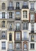 Paris windows — Stock Photo
