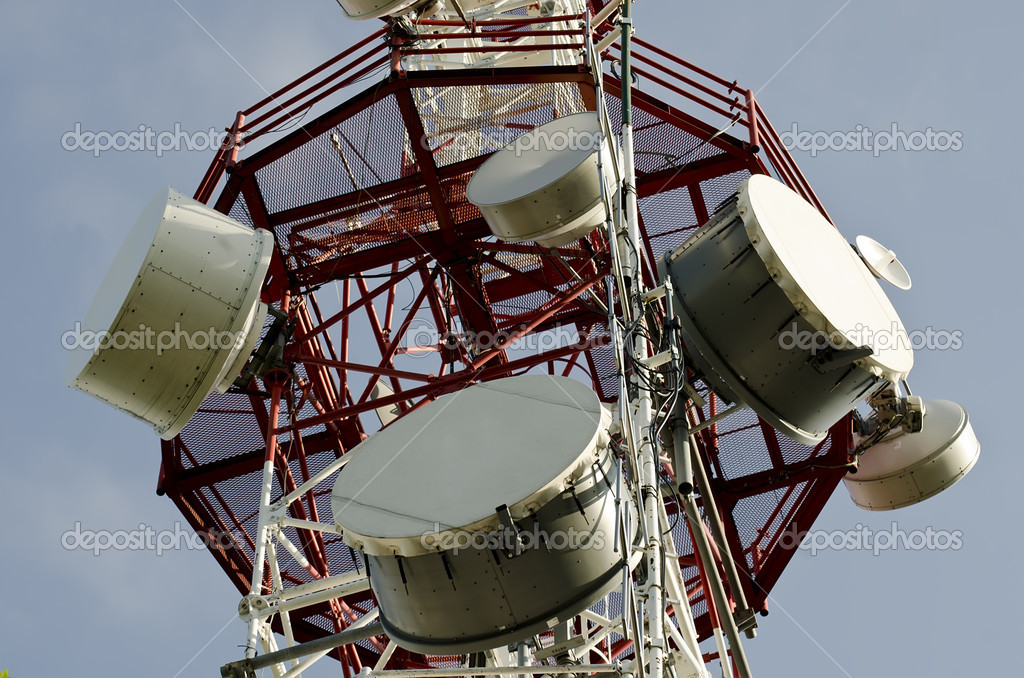 Communication antena — Stock Photo #10864709