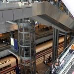 Berlin train station — Stock Photo