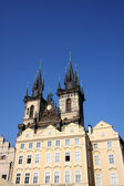 Tyn Cathedral in Prague — Stock Photo