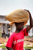 Rwanda pojke — Stockfoto