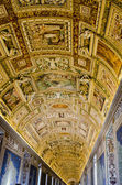 Gallery of the Geographical Maps in Vatican Museum — Stock Photo