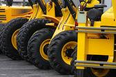 Construction vehicles — Stock Photo