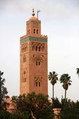 Koutubia mosque in Marrakesh, Morocco — Stock Photo