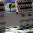 Stock Photo: Embroidery machine
