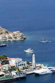 Symi, grecia — Foto de Stock