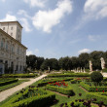 Villa Borghese, Rome, Italy — Stock Photo