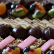Foto Stock: Cakes closeup