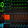 Vital signs unit - Stock Photo
