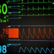 Stock Photo: Vital signs unit