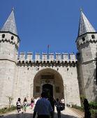 Topkapi palace in Istanbul — Stock Photo