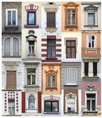 Belgrade windows — Stock Photo