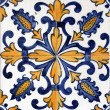 Lisbon azulejo — Stock Photo #12080309