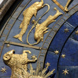 Astrological clock in Prague — Stock Photo