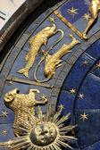 Astrological clock in Prague — Stockfoto