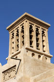 Wind tower in Dubai — Stock Photo
