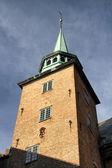 башня крепости акерсхус в осло — Стоковое фото