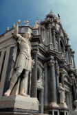 Catania cathedral — Stock Photo