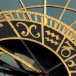 Astrological clock - Stock Photo
