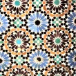 Mosaic from Marrakech, Morocco — Stock Photo