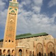 Mosque Hassan II in Casablanca - Stock Photo