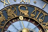Astrological clock — Stock Photo