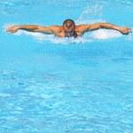 Hard swim training — Stock Photo #12152122
