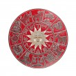 Stock Photo: Red horoscope wheel