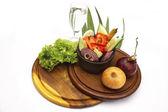 Sebze salatası — Stok fotoğraf