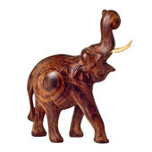 Slon dřeva — Stock fotografie