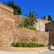 Alcazaba of Malaga, in Malaga, Spain - Stock Photo