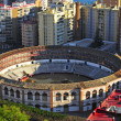 La Malagueta Bullring in Malaga, Spain - Stock Photo