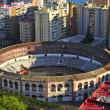 La Malagueta Bullring in Malaga, Spain — Stock Photo