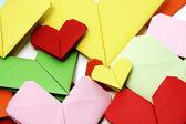 Corações de papel — Foto Stock