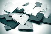 Kağıt kalpler — Stok fotoğraf