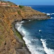 Northen coast of Tenerife, in Canary Islands, Spain — Stock Photo