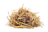 A pile of straw — Stock Photo
