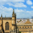 Cathedral of Seville, Spain — Stock Photo