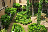 La Alhambra in Granada, Spain — Stock Photo