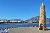 Puerto Banus in Marbella, Spain — Stock Photo