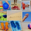 Summer collage — Stock Photo #11479419