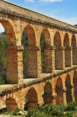 Roman Aqueduct Pont del Diable in Tarragona, Spain — Stock Photo